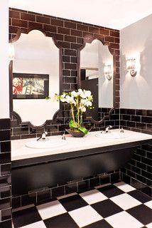 groß  JPI Hollywood - modern - badezimmer - los angeles - von Robin Wilson Interior Design