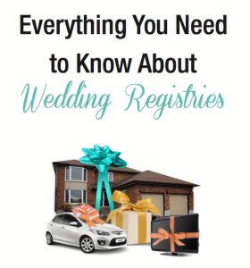 The Definitive Guide to #Wedding Gift Registries - etiquette, gift ideas, how-tos and more!