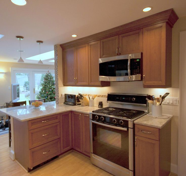 Kitchen Peninsula Cooktop: CORNER CABINET And DRAWERS! Perfect Choices