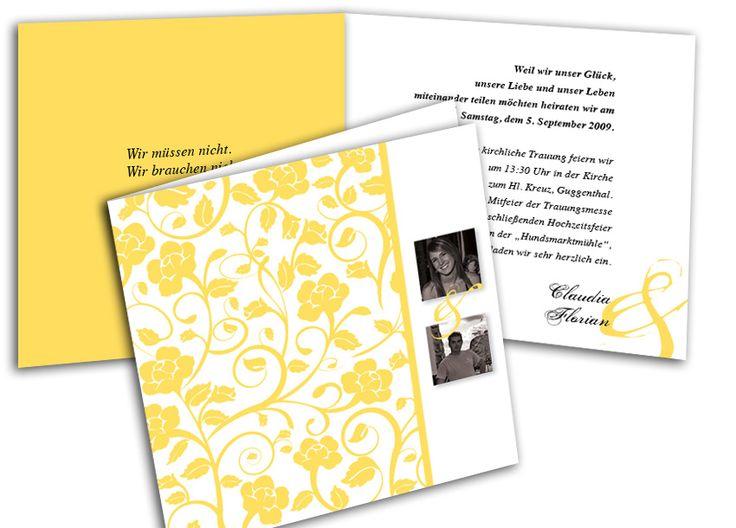 118 best Hochzeitseinladungen images on Pinterest