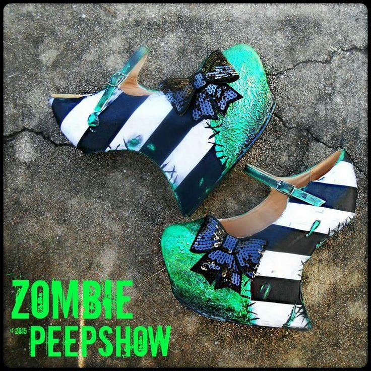 Zombie peepshow