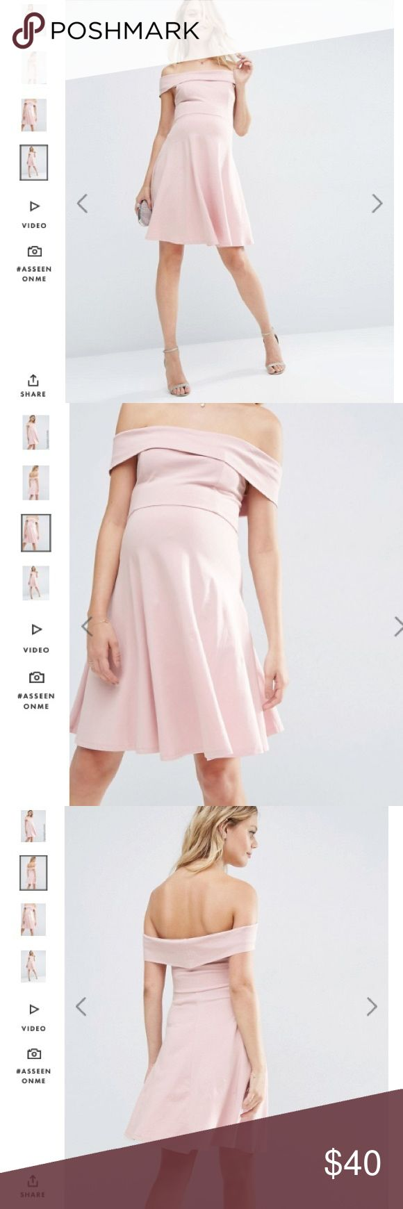 Sale 💞NWT Asos maternity blush color dress 6 NWT Gorgeous cotton dress size 6. Very beautiful on ☺️ ASOS Maternity Dresses