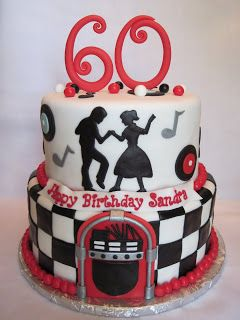 Heather's Cakes and Confections: 50's Theme