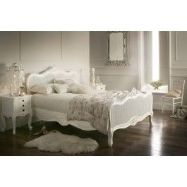 Sleep Sanctuary // Provence Rattan White Wooden Bed Frame - $599.00