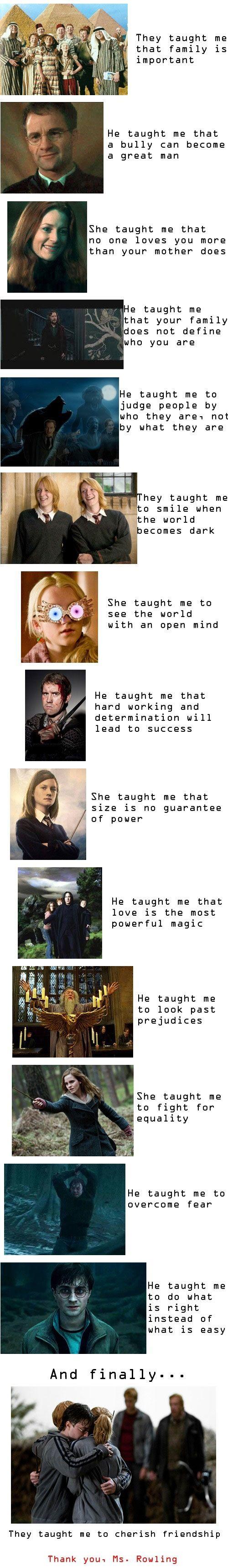 The Teachings Of JK Rowling