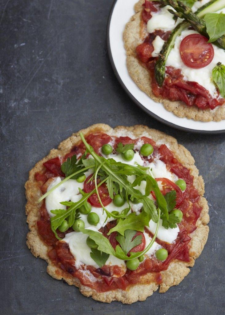Healthy Mini Pizzas