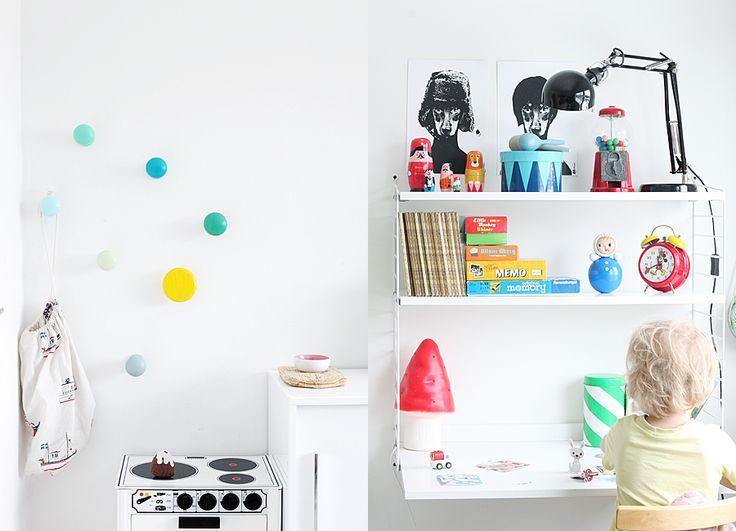 String pocket shelveFor Kids, Homework Spaces, Weekday Carnivals, Colors Room, Kids Room, Boys Decor, Dreams House, Design Blog, Desks Spaces