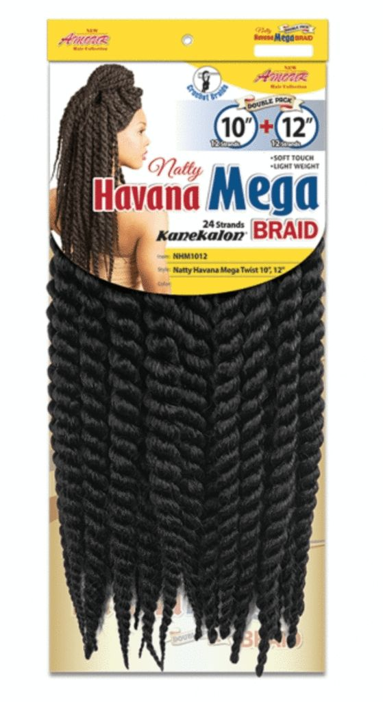Chade Fashion Havana Mega Twist 10 Inches + 12 Inches - Beauty EmpireChade