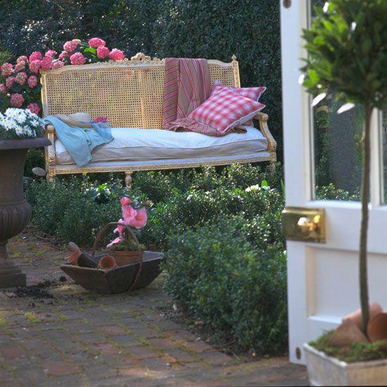 Country garden bench | Garden furniture | image