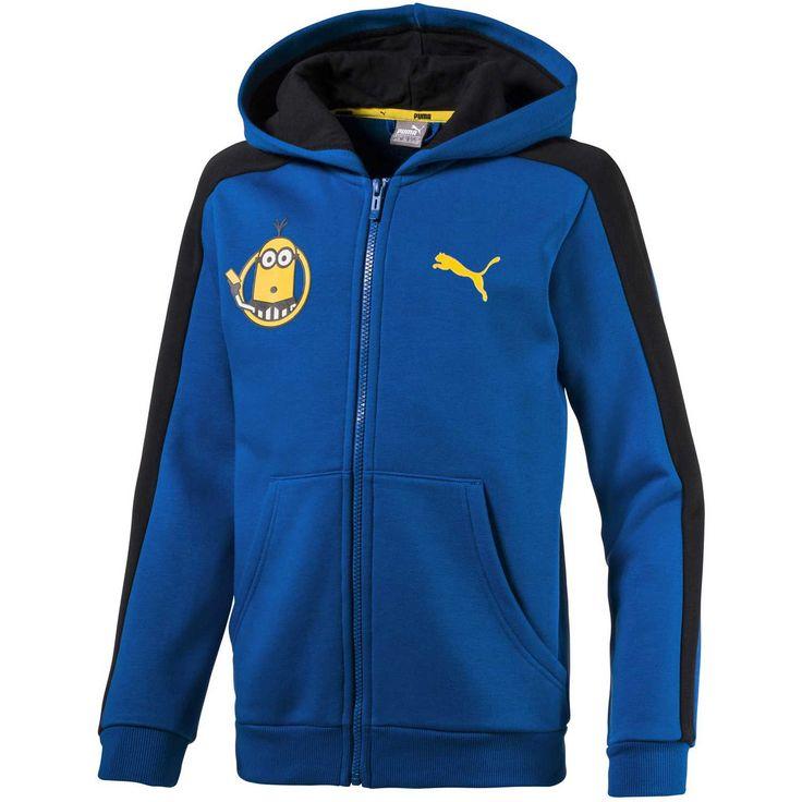 Polera de Niño Puma Azul minions hooded jacket