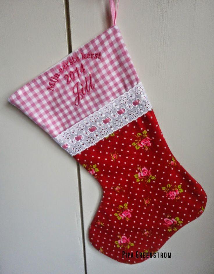 Pipa Greenström Hobby handwerk uut de Noordkop: My first Christmas