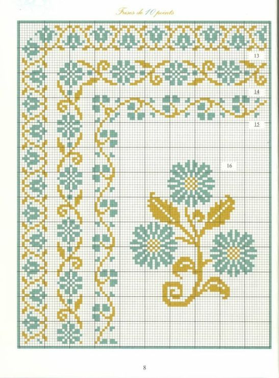 Borders in cross stitch 3
