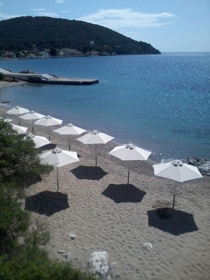 Our Private Beach !