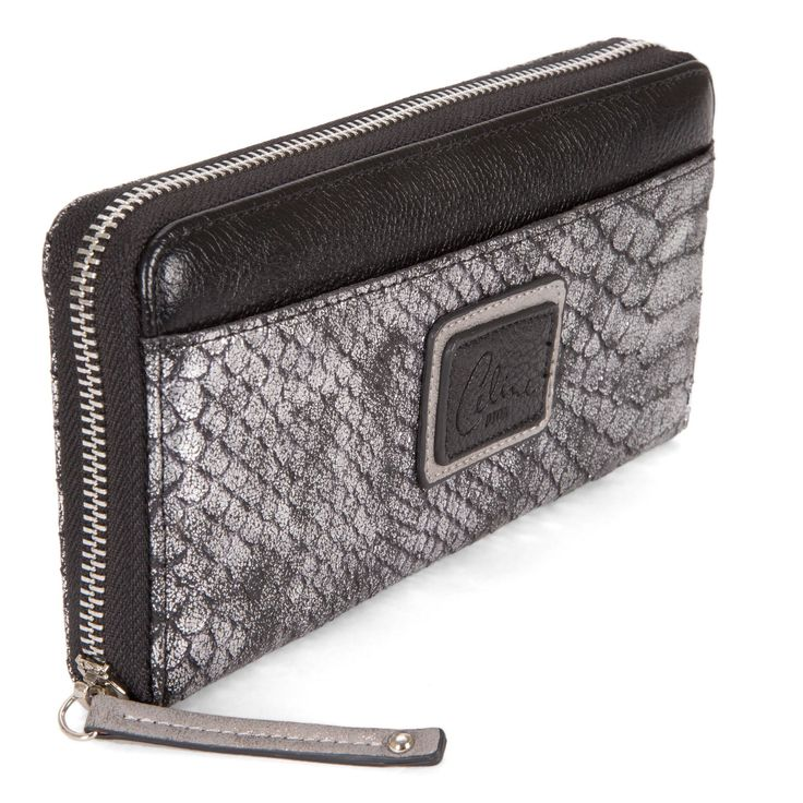 Céline Dion Fashion Wallet with Snake Print