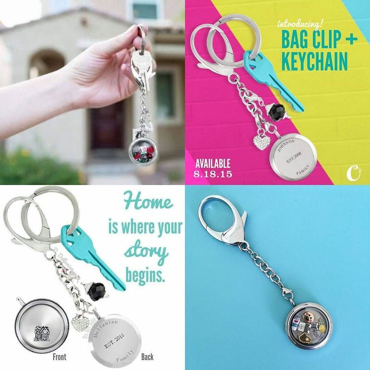 Did you know we have more than one way to carry your story with you!  Introducing our Bag Clip  Keychain!  A Stainless Steel Bag Clip  Keychain is the perfect travel companion and can be personalized for any occasion.  It's the perfect gift for a new home owner driver and a special realtor who wants to give a little something extra at closing to celebrate such a life milestones.  Your story Your way!  Timelesslocket.OrigamiOwl.com  #timelesslocket #seniorteamleader #icanhelp #keychain…