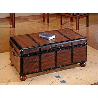 55 best ottomans storage images on pinterest ottomans for Overstock trunk coffee table