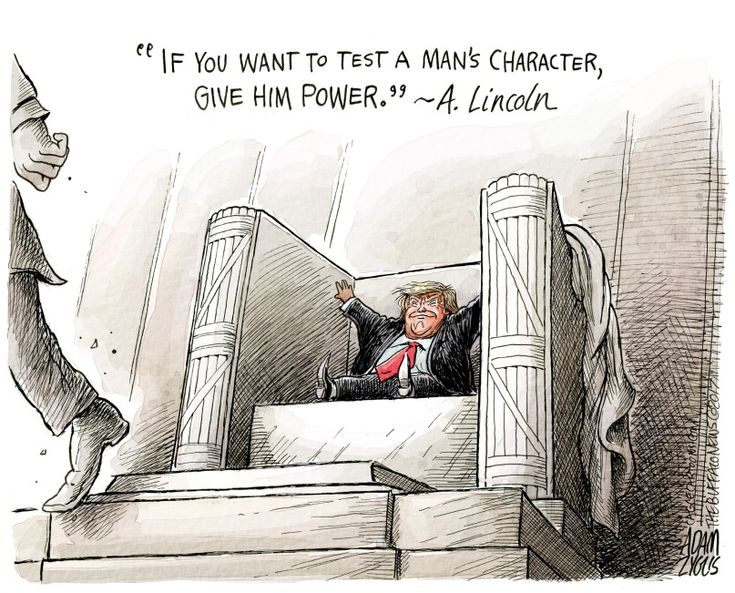 Trump easily flunked the test