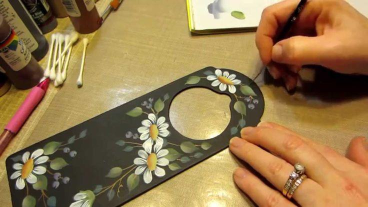 Tutorial: Daisy Painting ☆ Handicraft Ideas
