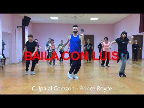 CULPA AL CORAZON Prince Royce BACHATA | BAILA CON LUIS 2016 + Tutorial