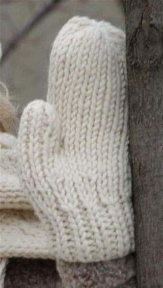 Warm Wool Mittens Free Knitting Patterns | FaveCrafts.com