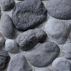 Kodiak Mountain Stone Manufactured Stone Veneer - River Rock Thin Stone