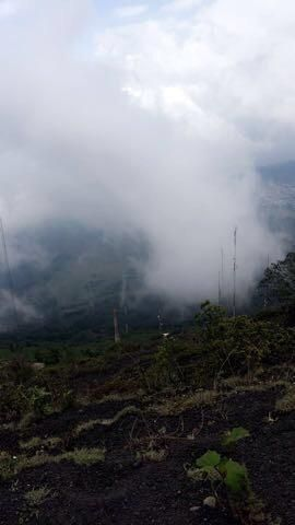 Hiked up a volcano and ended up in the clouds! Volcano Pacaya in Guatemala. #hiking #camping #outdoors #nature #travel #backpacking #adventure #marmot #outdoor #mountains #photography