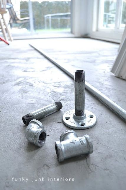 17 Best Images About Galvanized Pipe Projects On Pinterest