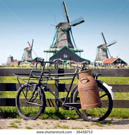 Bike and windmills