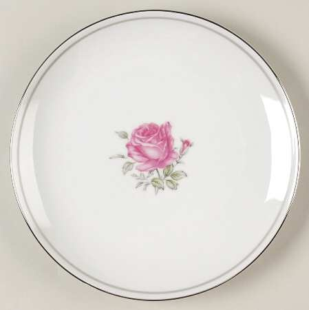 imperial rose china pattern with pink shabby chic rose from fine china of japan my rose. Black Bedroom Furniture Sets. Home Design Ideas
