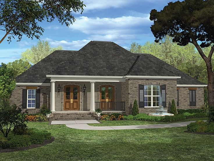 Eplans European House Plan – Acadian Elegance – 2400 Square Feet