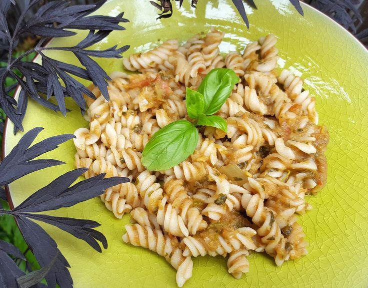 Roasted aubergine pasta - CookTogether