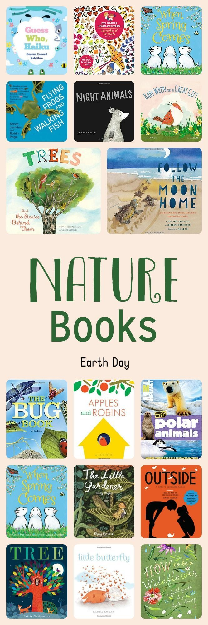 books about nature - Earth Day 2016
