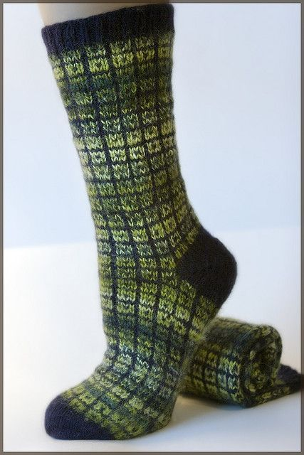 Lifestyle Toe Up Socks - No Swatch Needed