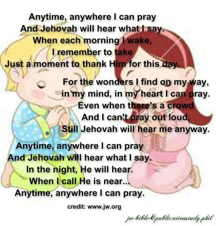 this is sooo sweet and attests to Jehovah's love for all His little sheep. Even as an adult I love this song.