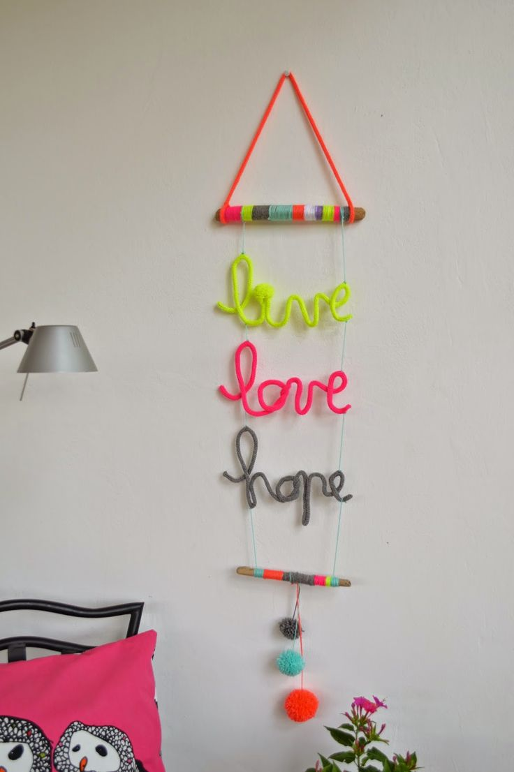 LuneDIY - Live Love Hope al tricotin