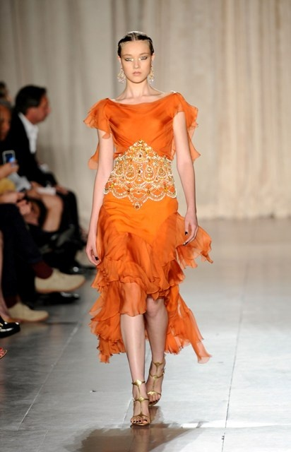 Marchesa Spring 2013 at New York Fashion Week