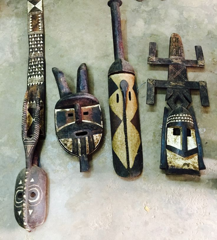 A few unique West African masks that will be arriving soon!