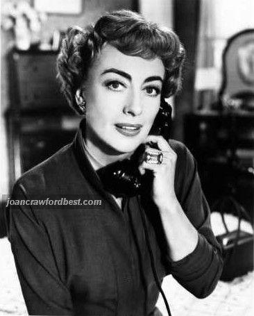 Joan Crawford -Old Movie Star