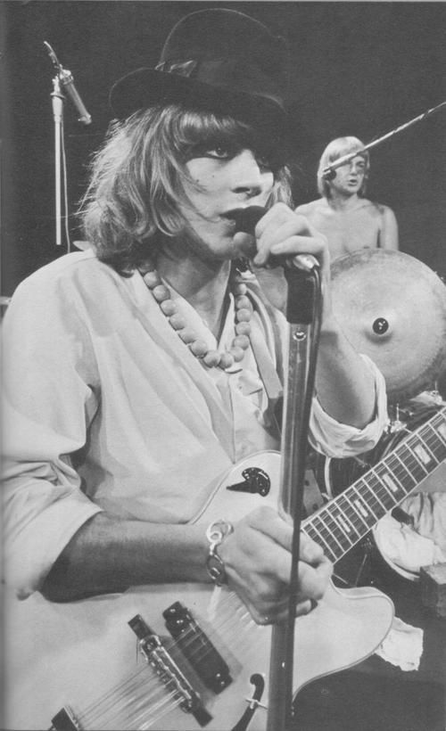 Kevin Ayers (Soft Machine), 1968.