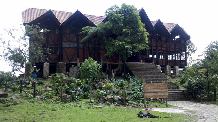 Refugio parque natural Chicaque - Cundinamarca