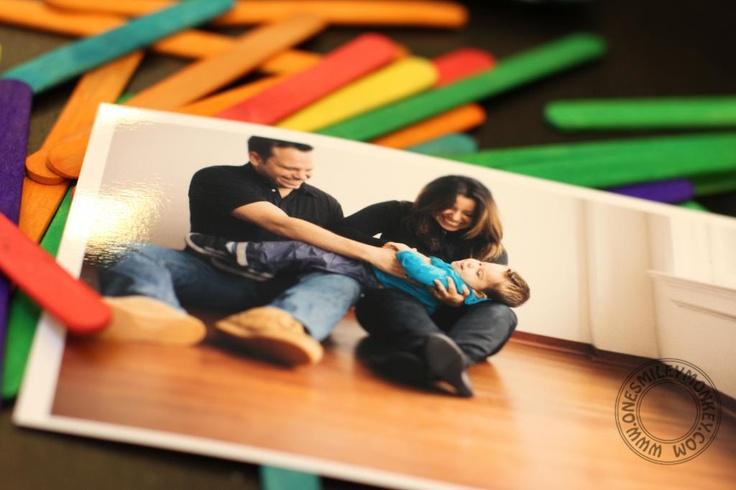 DYI Family photo Puzzles