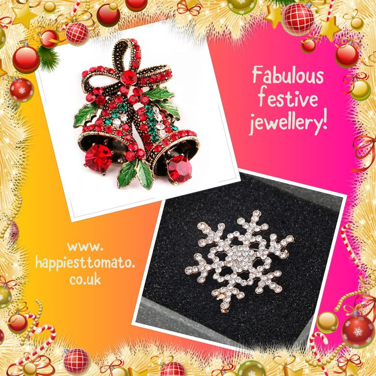 ***NEW STOCK ALERT!*** Fabulous Christmas brooches, just £4.99! at http://stores.ebay.co.uk/happiesttomato/Christmas-/_i.html?_fsub=29662458018 #Xmasgifts #Stockingfillers #MondayMotivation #christmasgifts #ChristmasIsComing #Christmasbrooches 