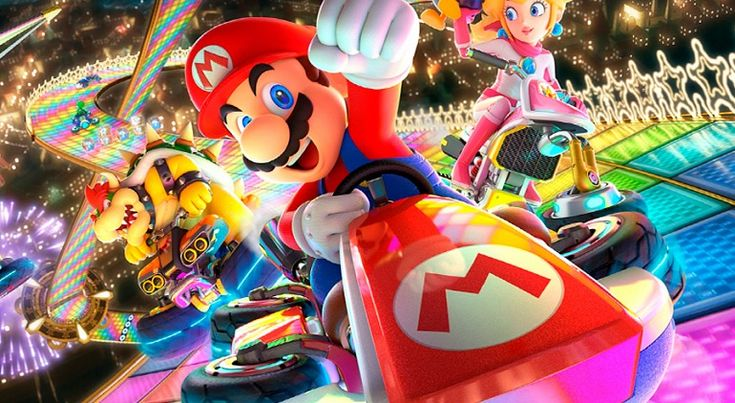 Top Japan: Mario Kart 8 Deluxe and lead their rankings Change 3DS Mario Kart 8 Deluxe Nintendo Switch PS3 PS4 Vita Wii U Xbox One