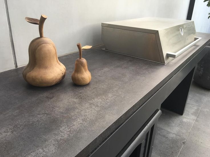 "70 Likes, 5 Comments - CDK Stone (@cdkstone) on Instagram: ""An amazing update for this BBQ with a Neolith Iron Grey top. It looks fantastic and is so practical…"""