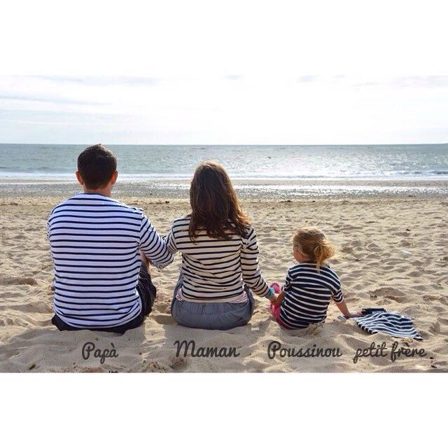 Stripes family, waiting for #petitfrère