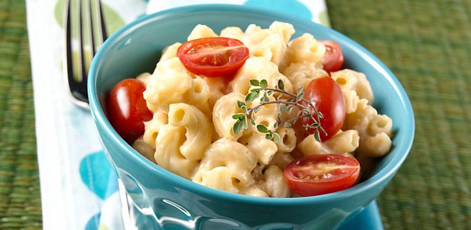 Recipe Image   cheesy mac    uses cottage cheese and cheddar.