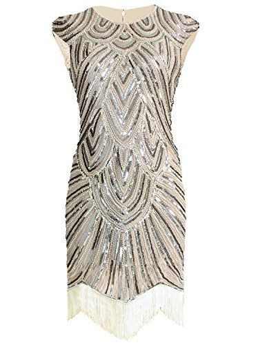 Vijiv Art Deco Great Gatsby Inspired Tassel Beaded 1920s Flapper Dress, http://www.amazon.com/dp/B019DUEDOQ/ref=cm_sw_r_pi_awdm_H6mGwb16JKEGJ