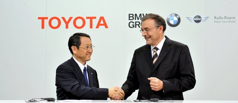 BMW and Toyota Sign Agreement to Collaborate on New Products and Technologies