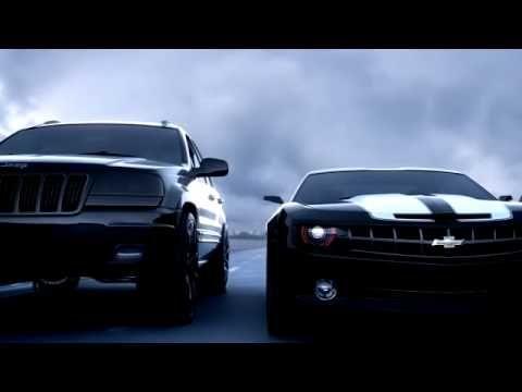Ford SHELBY vs CAMARO vs JEEP vs VAZ 2107 vs HELICOPTER - My cars (showreel)... - YouTube