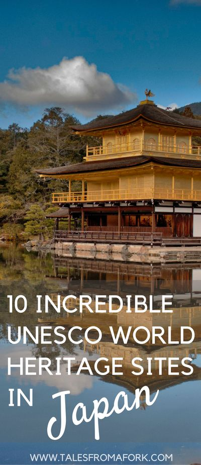 Get inspired to visit Japan's incredible UNESCO World Heritage Sites by clicking through and checking out these photos. From parks to castles to temples, they'll blow your mind away with beauty.   Pinterest image modified by a photo from Kevin Allekotte via Flickr. See post for link to Flickr.